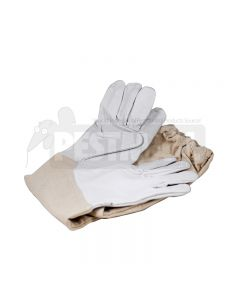 Professional Grade Bee Control leather Gloves